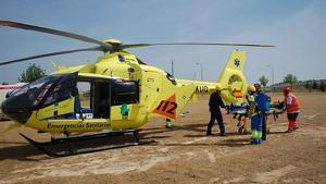 Helicóptero Extremadura