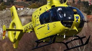 Imagen de archivo de un helicóptero del SESCAM.