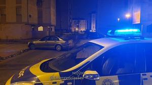 Imagen de la policía local en el lugar de los hechos