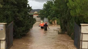 Imagen de un operativo de rescate en Almería