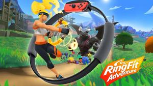 Imagen promocional de 'Ring Fit Adventure'