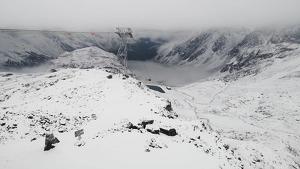 Imágenes de las primeras nevadas de la temporada en los Alpes