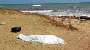 Imatge d'arxiu d'un mort a les platges valencianes