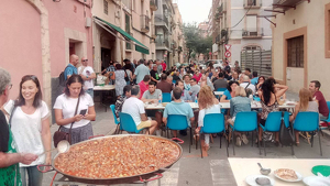 Imatge de l'esmorzar amb espineta i caragolins al Bar Cortijo de l'any 2018.