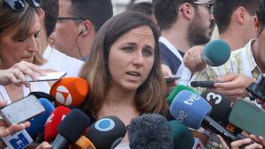 Ione Belarra s'ha mostrat preocupada per la postura «inamovible» que manté el PSOE