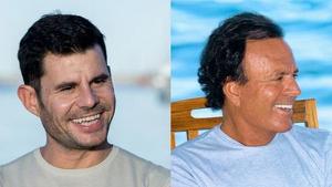 Javier Santos y Julio Iglesias