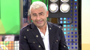 Jorge Javier detiene 'Sálvame' para avisar de un grave error ortográfico