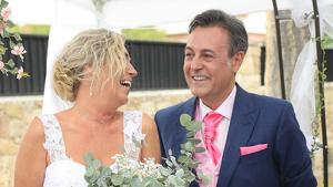 José Ribagorda y Loles Silva ya son marido y mujer