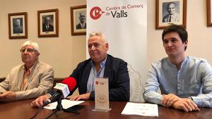 Josep Maria Rovira, el president de la Cambra de Comerç de Valls, ha presentat la Missió d'enguany en roda de premsa