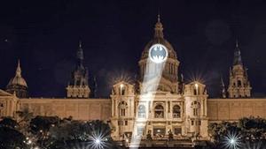 La 'batsenyal' ja es va poder veure al museu barceloní en un còmic publicat el 2009