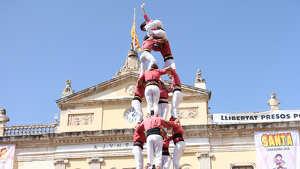 La Colla Vella de Valls ha quallat una gran actuació en el primer diumenge de festes de Tarragona