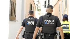La detención fue llevada a cabo por la Policia Local de Ciutadella