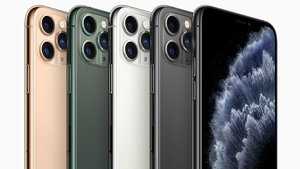 La gamma de models amb diferents colors del nou iPhone 11