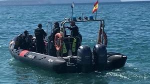 La GEAS encuentra un segundo cadáver en la playa de Horcas Coloradas
