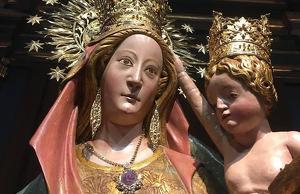 La Mare de Déu de la Serra és la patrona de Montblanc