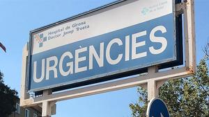 La nena va ingressar a l'hospital Josep Trueta en estat greu
