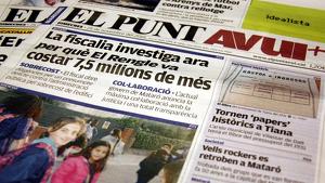 La periodista d'El Punt Avui', Montse Oliva, era delegada del diari a Madrid