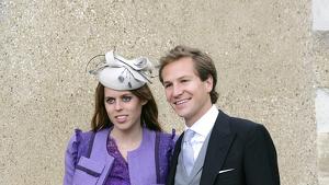 La princesa Beatriz con su ex pareja, David Clark