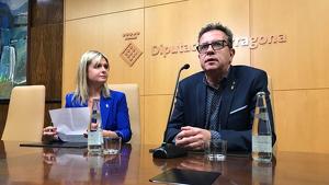 La presidenta de la Diputació de Tarragona i el president de la Diputació de Lleida reivindiquen «els reptes compartits»