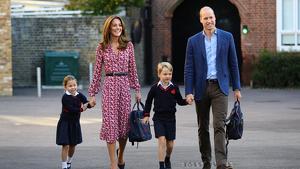La vuelta al cole de los hijos de los Duques de Cambridge