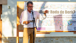 L'alcalde de Roda de Berà, Pere Virgili, va donar detalls sobre l'edició 2 dels pressupostos participatius.