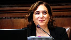 L'alcaldessa de Barcelona, Ada Colau, va defensar la presidència del pregó de Manuela Carmena per a les festes de La Mercè 2019