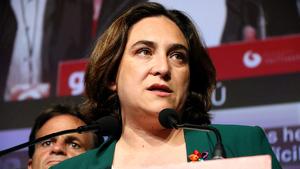 L'alcaldessa en funcions, Ada Colau, continua apostant per un tripartit d'esquerres a Barcelona