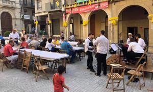 L'any passat, la plaça del Blat va acollir la primera edició de l'esmorzar de veremadors