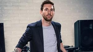 Leo Messi presenta la seva marca de roba al centre de Barcelona enmig d'una gran expectació
