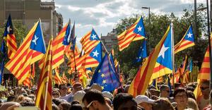 Les imatges de la mobilització de l'Onze de Setembre a Barcelona