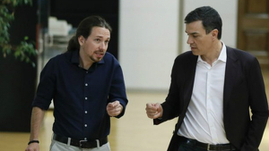 Les negociacions entre PSOE i Podem han quedat estancades a poques hores de la investidura