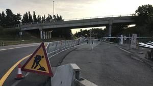 Les obres per instal·lar enllumenat al tram dels càmpings de l'N-340a s'han iniciat aquesta setmana.