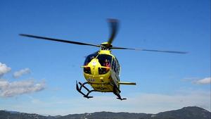 L'helicòpter dels Bombers s'ha sumat a la cerca dels joves fins que s'ha fet fosc.