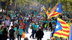 L'independentisme surt de nou als carrers de Barcelona