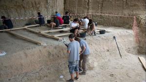 L'IPHES dirigeix la dotzena campanya d'excavacions al jaciment prehistòric de la Canonja