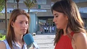 María Teresa explicaba la pérdida de su hijo por culpa de la listeriosis
