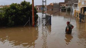 Molts municipis continuen inundats este dilluns en el Baix Segura