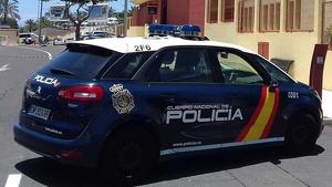 Policía Nacional en Tenerife