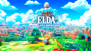 Portada del juego de 'The Legend of Zelda: Link´s Awakening'