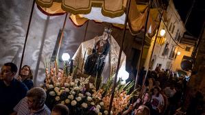 Processó i correfoc per la Mare de Déu de la Riera a les Borges del Camp 2017
