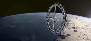 Recreació de l'aspecte final de l'Estació Von Braun