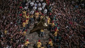 Santa Tecla 2019: Imatges del pregó del Boada, del seguici i de la baixada de l'àliga!