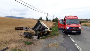 Un accidente de tráfico deja una víctima mortal en Olza, Navarra