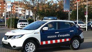 Un cotxe dels Mossos ha atropellat la dona al centre de Barcelona
