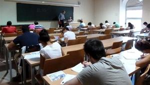 Una aula de instituto