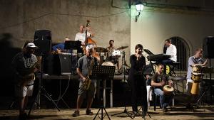 Una imatge del Festival de Jazz de Salomó, en la seva primera edició.