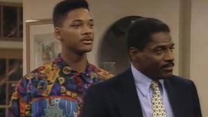Wesley junto a Smith en la ficción de NBC en los 90