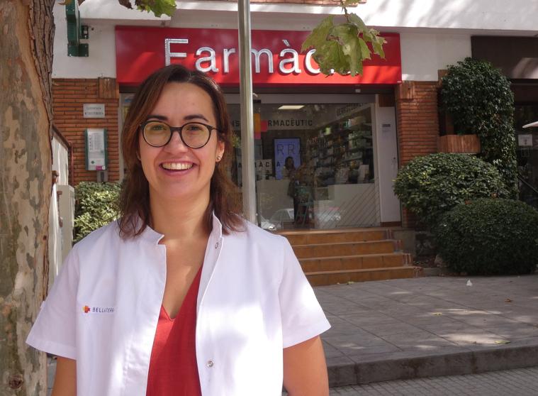 Caus és la propietària de la Farmàcia Bellaterra des de fa 10 anys
