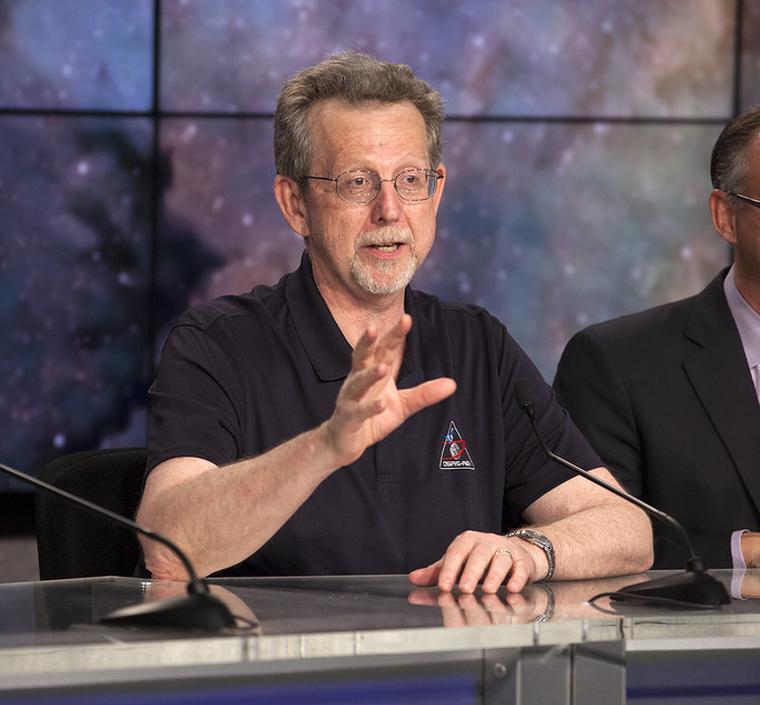 El científic Jim Green, de la NASA, en una imatge d'arxiu