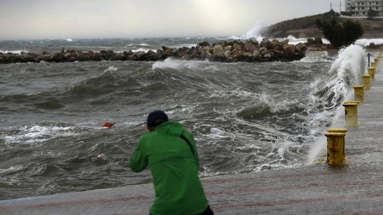 El temporal de mar serà important a tota la costa catalana